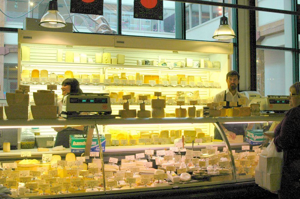 Cheese Counter at DeLaurenti Specialty Food & Wine, Pike Place Market