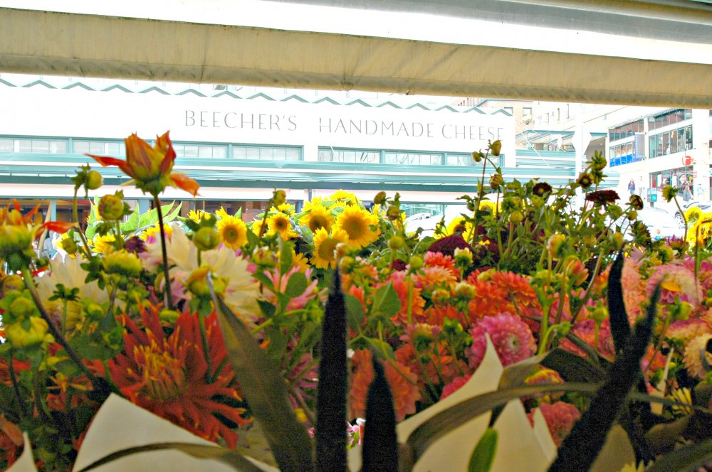 Flowers at Pike Place Market