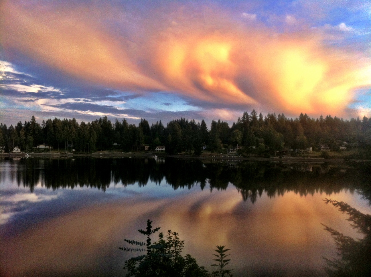 Clouds Over Hammersley Inlet