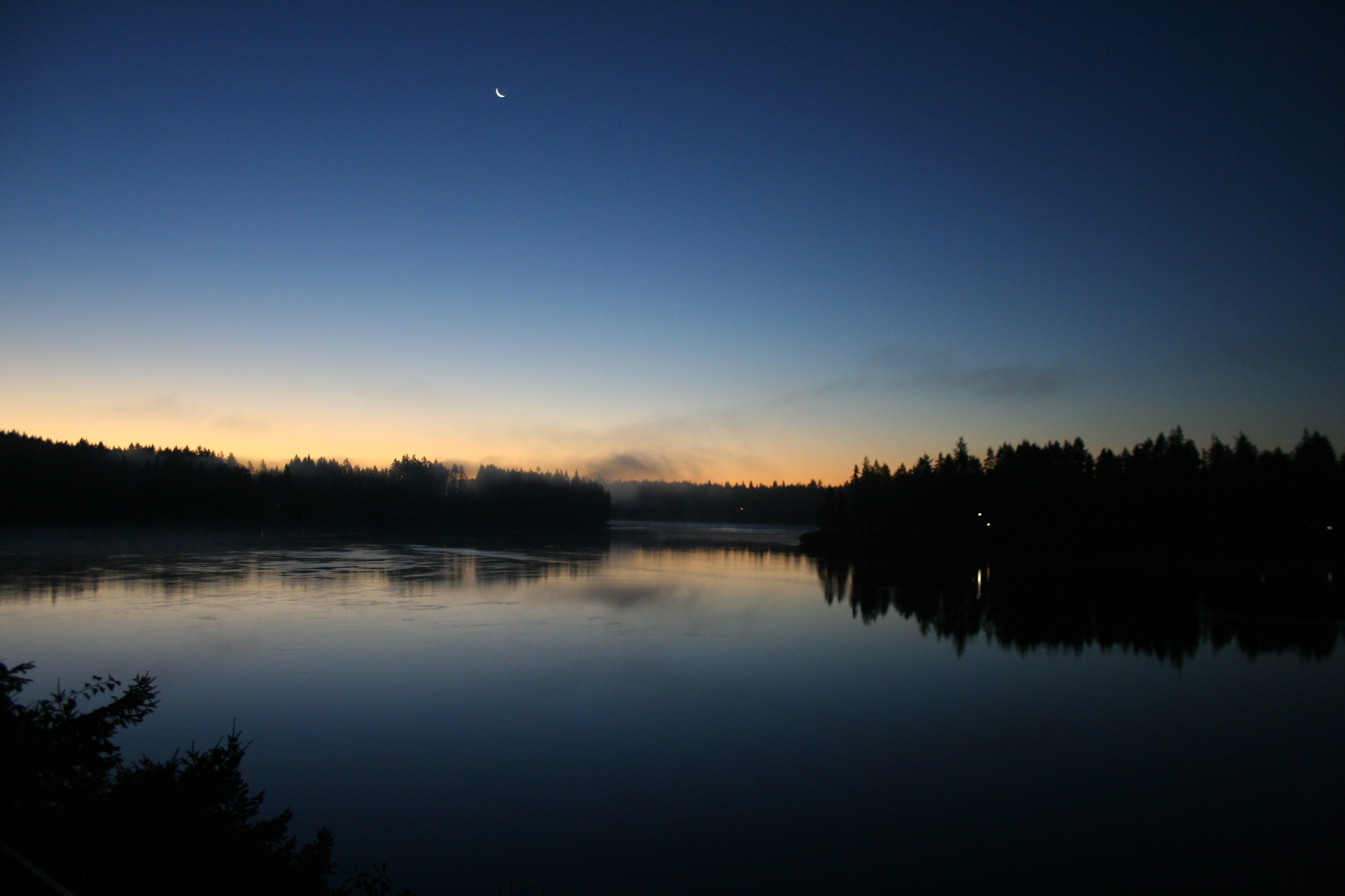 Dawn Over Hammersley Inlet.