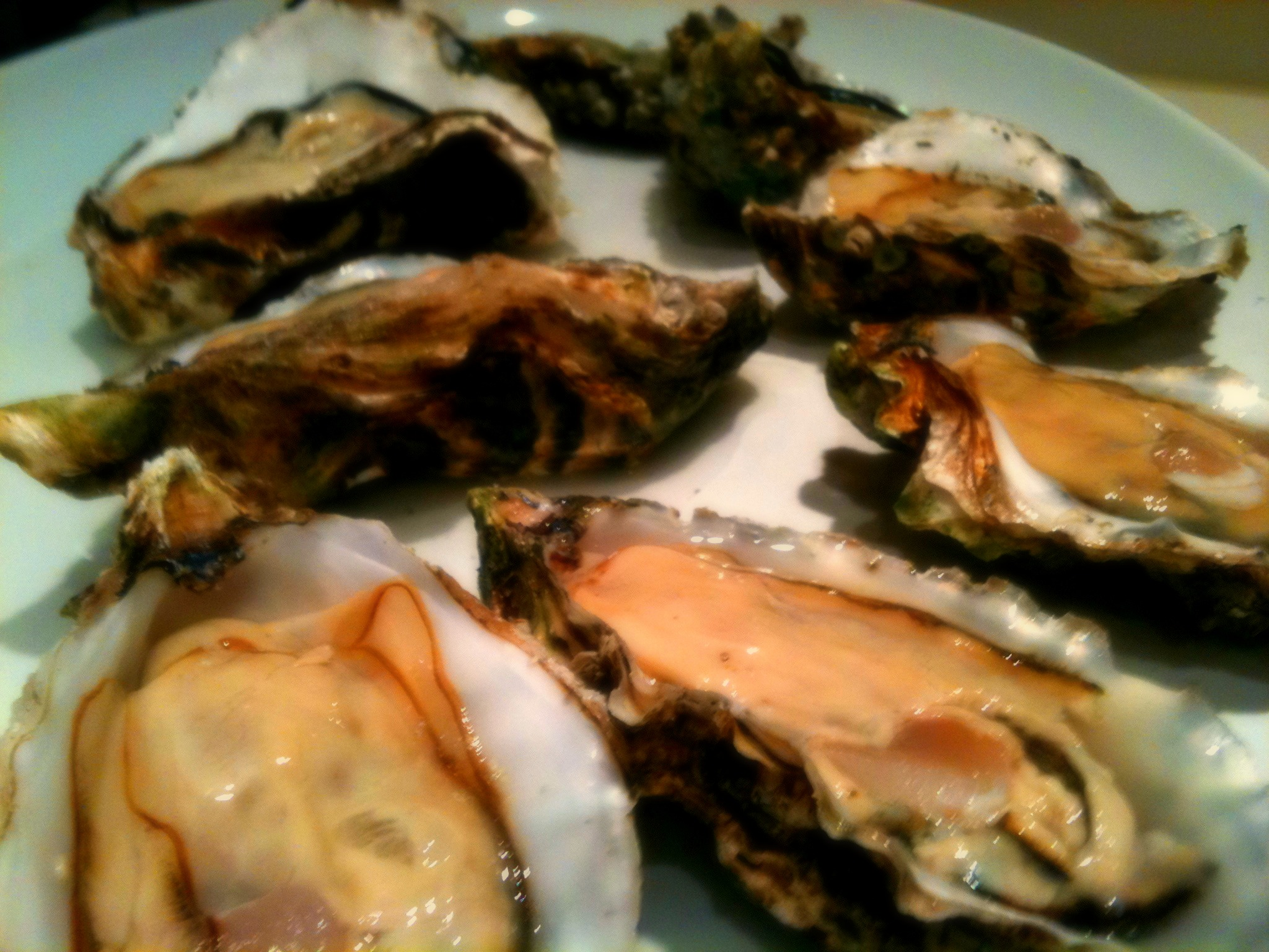 Pacific Oysters, Agate Beach House