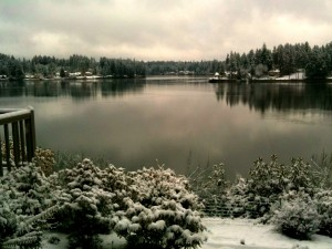Winter View of Hammersley Inlet